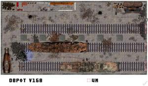 Abandoned Train Depot Floorplan