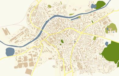 Miranbrueck Citymap
