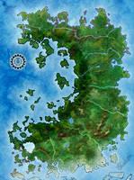 Nydele World map