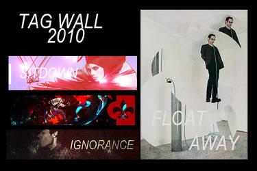September 2010 Tag Wall