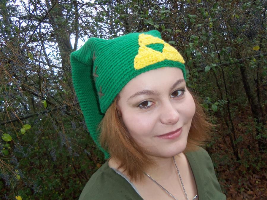 Crochet Zelda Hat : Crochet Link hat from Zelda by NerdCrafts on DeviantArt