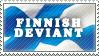 Finnish - stamp by RiikkaK