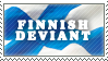 Finnish - stamp by RiikkaK