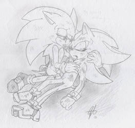 Sonadow - My Pain is Nothing by BlueNeedle-Inu