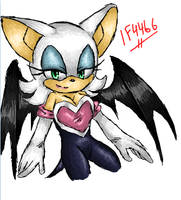 iScribble - Rouge by BlueNeedle-Inu