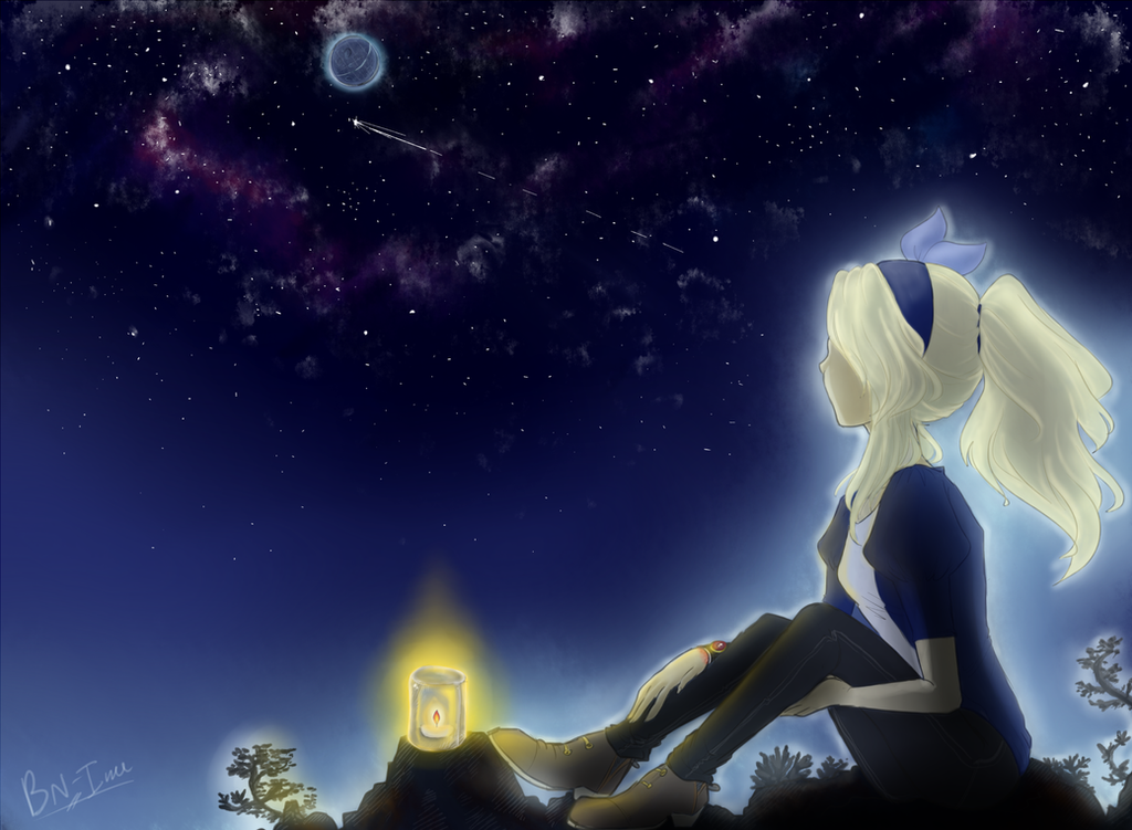 Saph - Anniversary by BlueNeedle-Inu