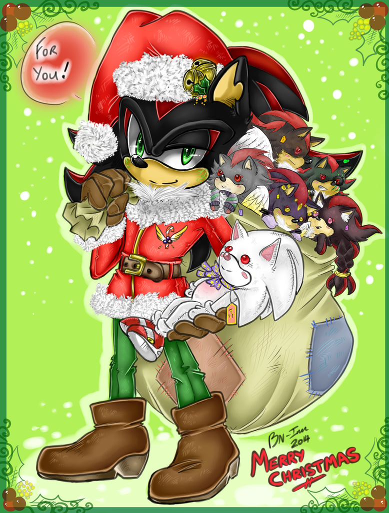 Merry Christmas SkySage and Friends! 2014 by BlueNeedle-Inu