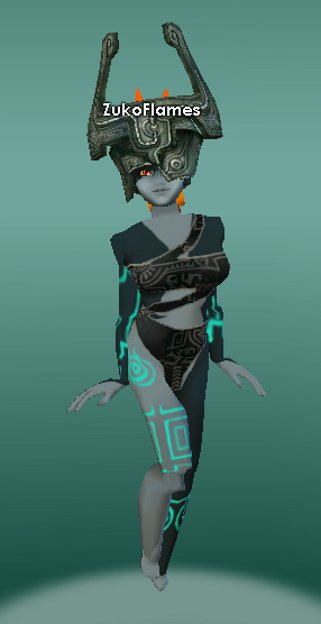 My Midna (Imp form) Outfit 2 by ZukoFlames on DeviantArt