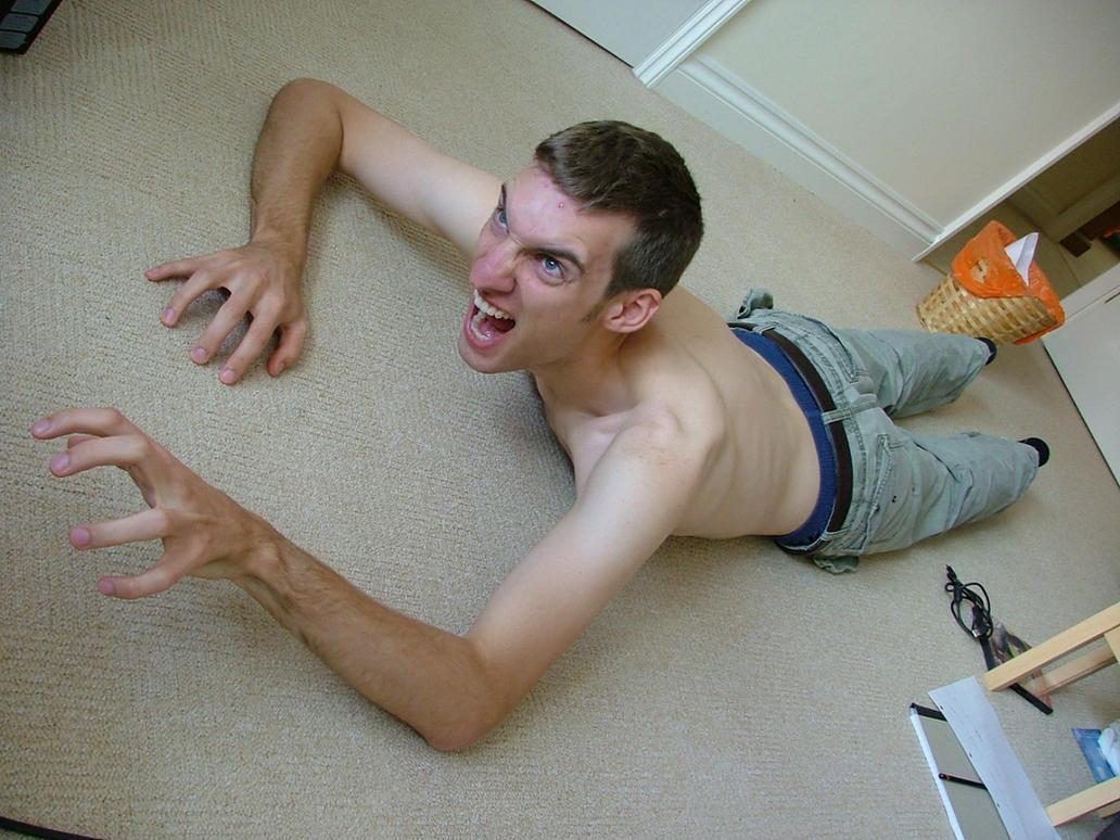 Crawling man 14 by fuguestock