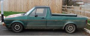 Old Truck 01 - Volkswagen