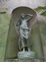 Worms Eye Goddess Statue by fuguestock