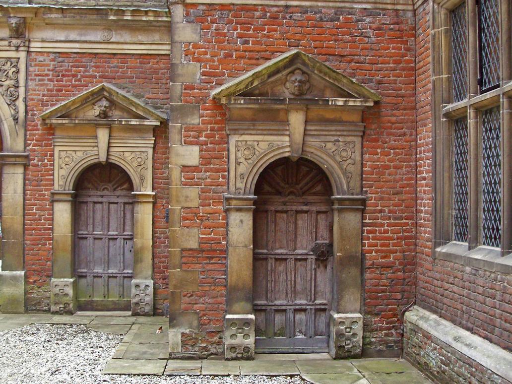 Double Tudor Doors by fuguestock ... & Double Tudor Doors by fuguestock on DeviantArt