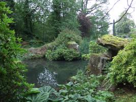 Rocky Pond by fuguestock