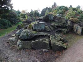 Stone Outcrop by fuguestock