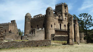 Ethiopian Castle by fuguestock
