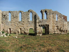 Ruined Abbey 07 by fuguestock