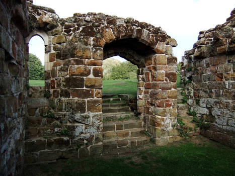 Stairs, Archway and Ruins 2