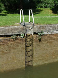 Canal Ladder 3 by fuguestock