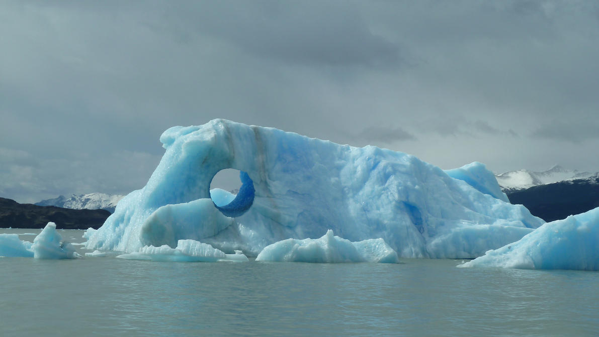 Iceberg 07 - Hole Close Up by fuguestock