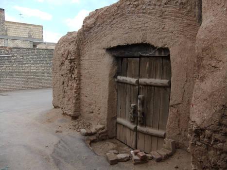 Rural Iran 05  Doorway
