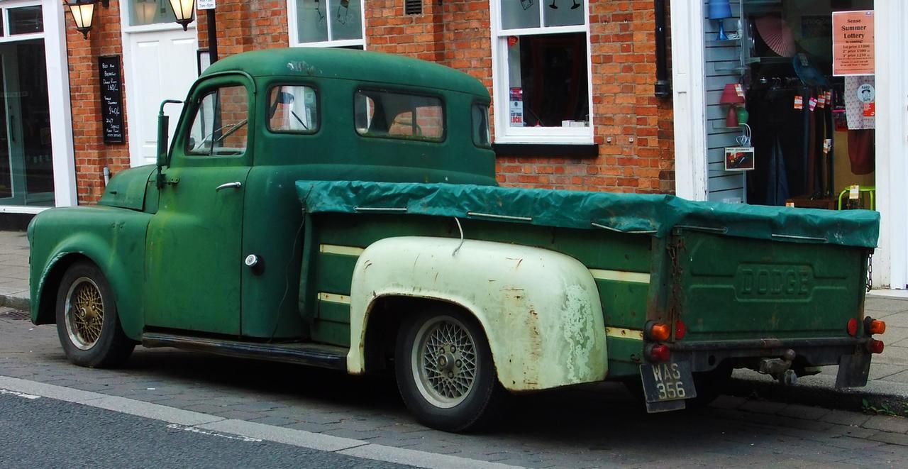 Old Dodge Truck 2