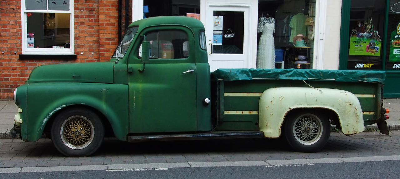 Old Dodge Truck 1