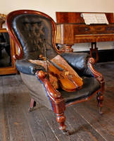 Chair and Violin by fuguestock