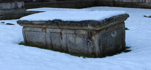 Snow covered Sarcophagus 01