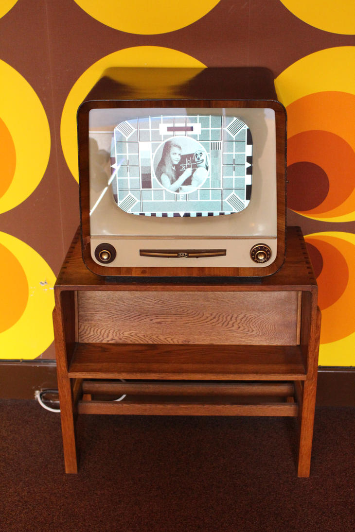1960s TV set 01 by fuguestock