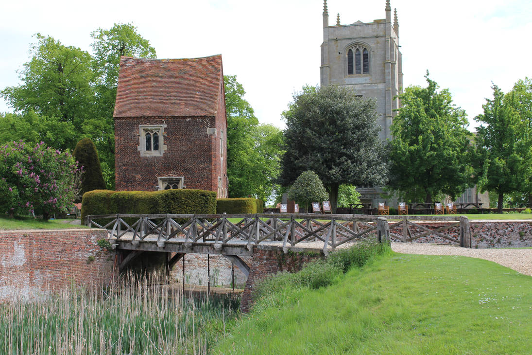 Bridge, church and house by fuguestock