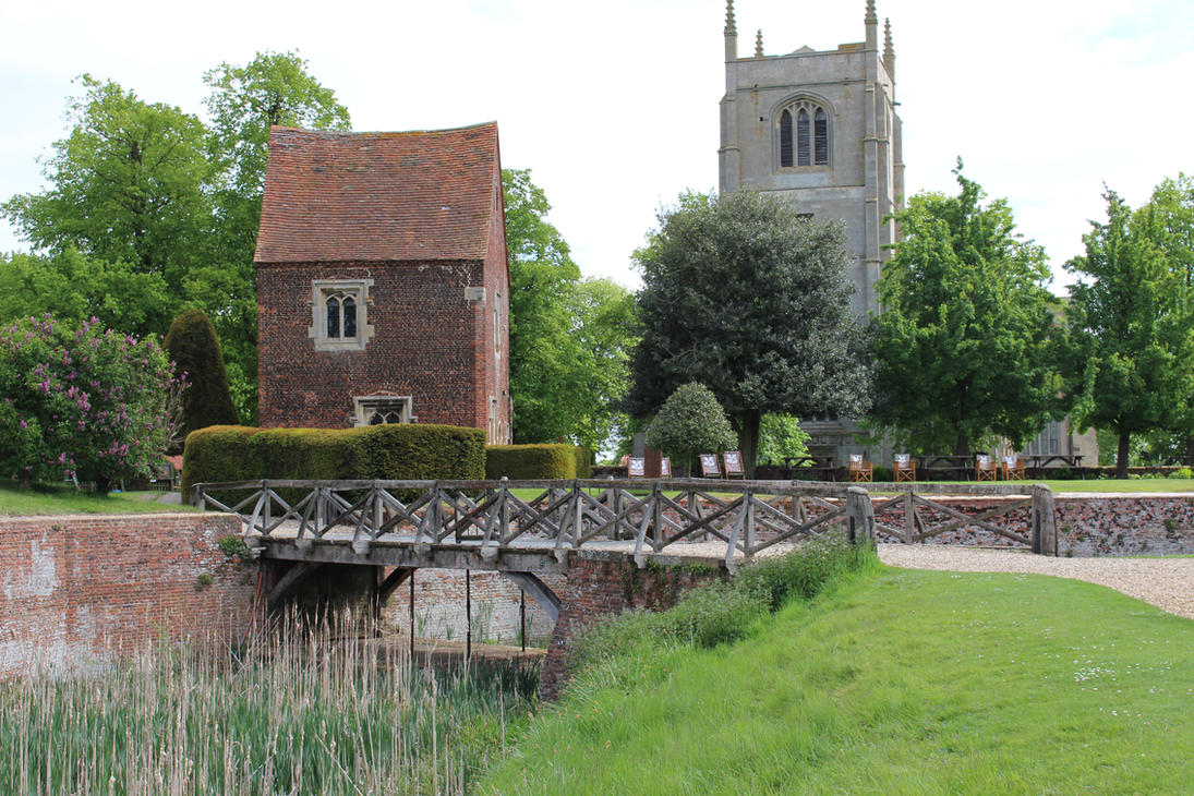 Bridge, church and house by fuguestock