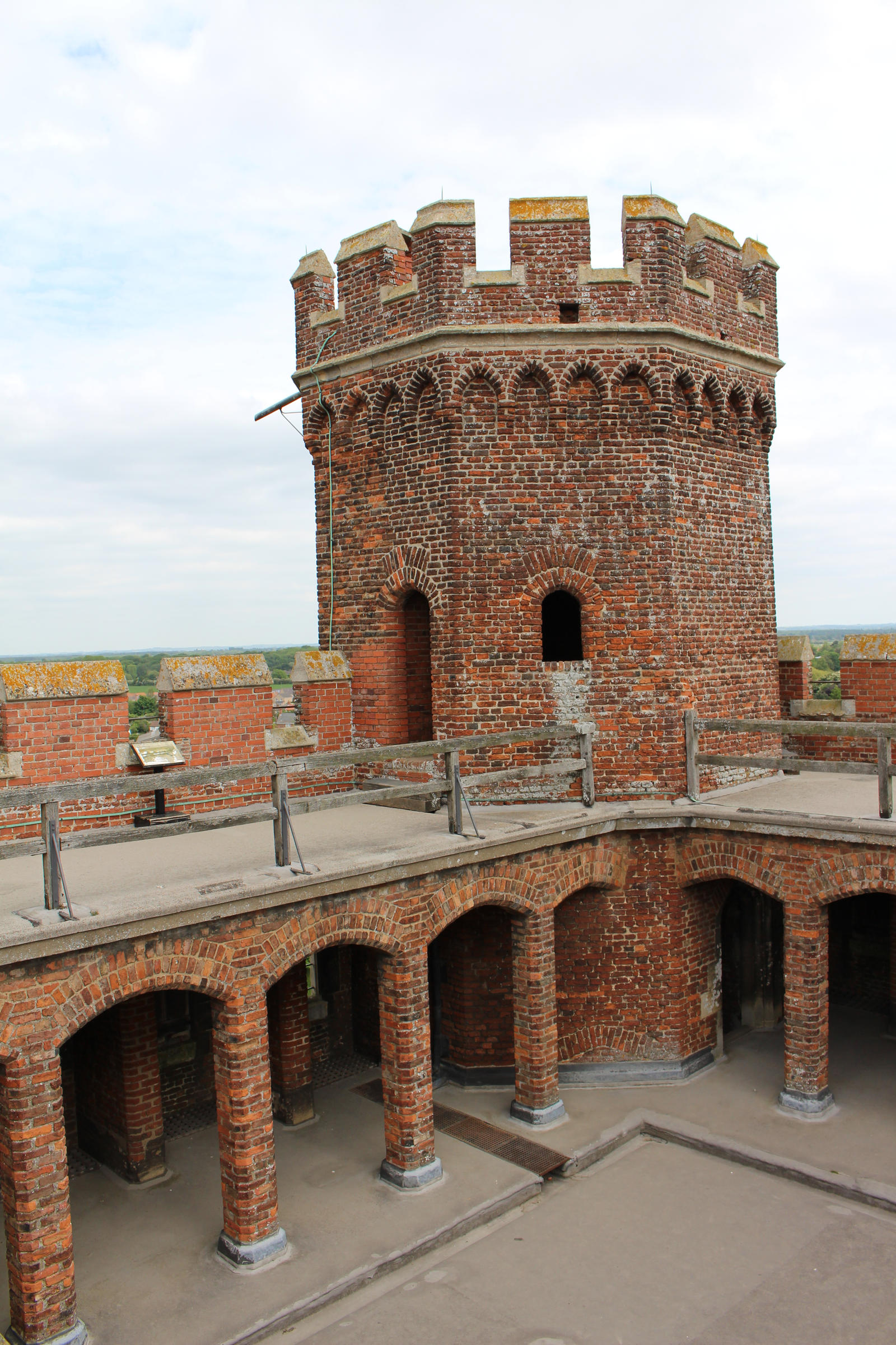 Fortress Courtyard 03 - Turret detail