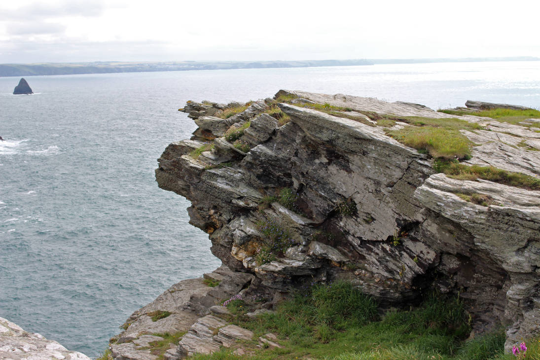 Rugged Coastline 16 - Clifftop by fuguestock