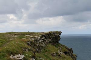 Rugged Coastline 12 - Clifftop BG by fuguestock