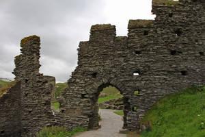 Tintagel Ruins 2 by fuguestock
