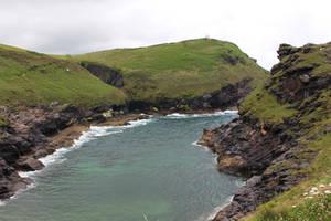 Rugged Coastline 03 - Channel by fuguestock