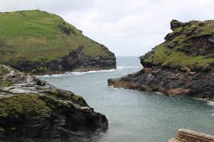 Rugged Coastline 02 - Inlet by fuguestock