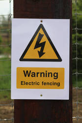 Warning: Electric Fence