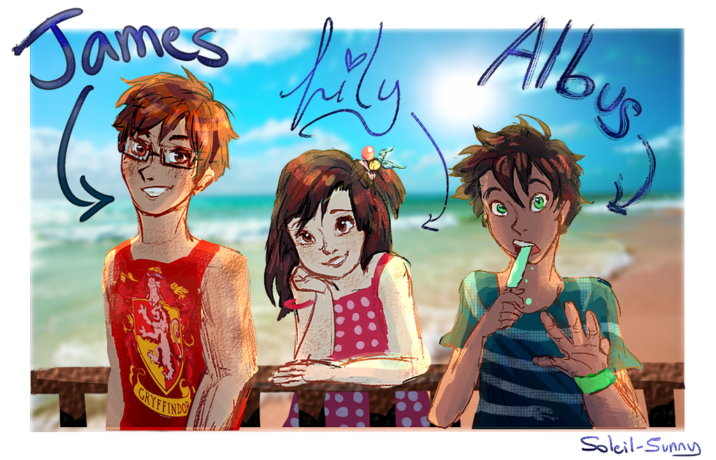 harry potters kids by soleilsunny on deviantart