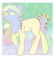 Morning Rainbow (OPEN MLP ADOPT) by tHe-PlAtiNuM-bAdgUy