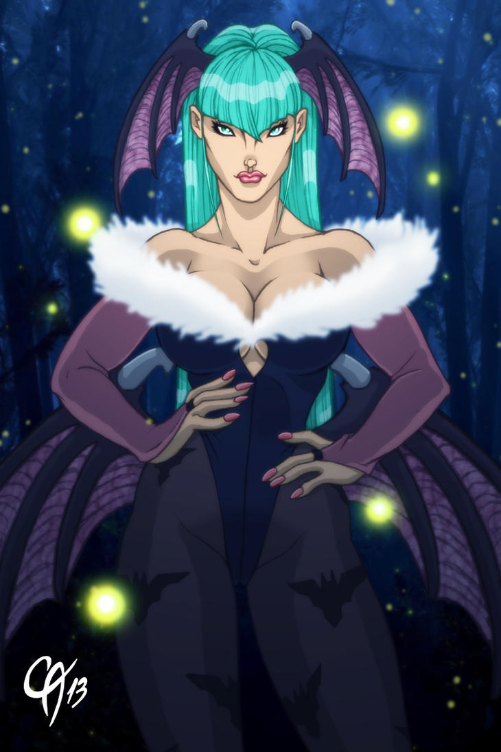 Morrigan Aensland by Cahnartist
