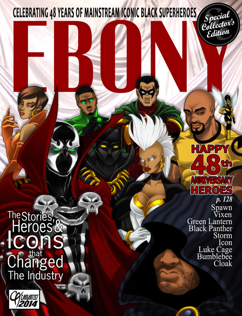 Ebony Icon Heroes by Cahnartist