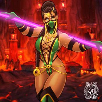 Jade by Cahnartist