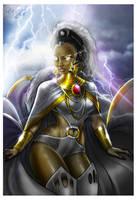 Goddess Storm by Cahnartist