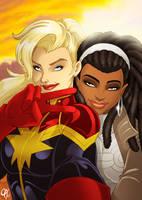 Marvel Selfie by Cahnartist