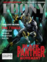black Panther Ebony Magazine