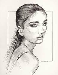 161011 Girl Portrait by JeSSanchez