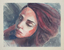 170614 Portrait Girl Watercolor