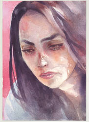 170713 Portrait Watercolor
