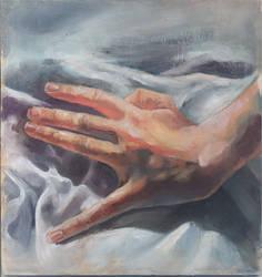 Hands oil study II